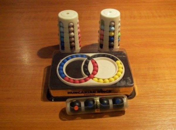 Retro játék bábel-torony