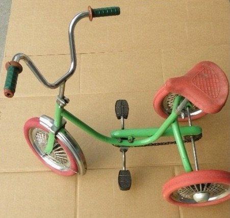 Retro játék tricikli